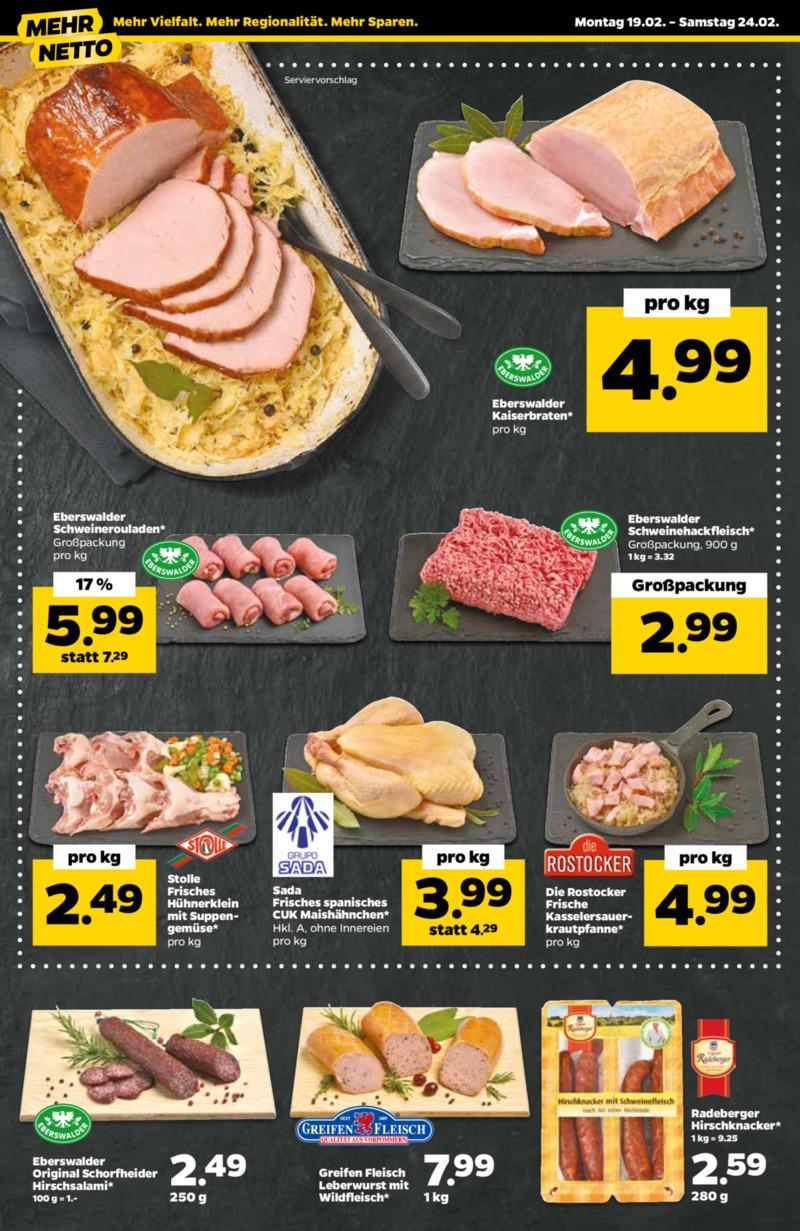 NETTO Supermarkt Prospekt vom 19.02.2018, Seite 17