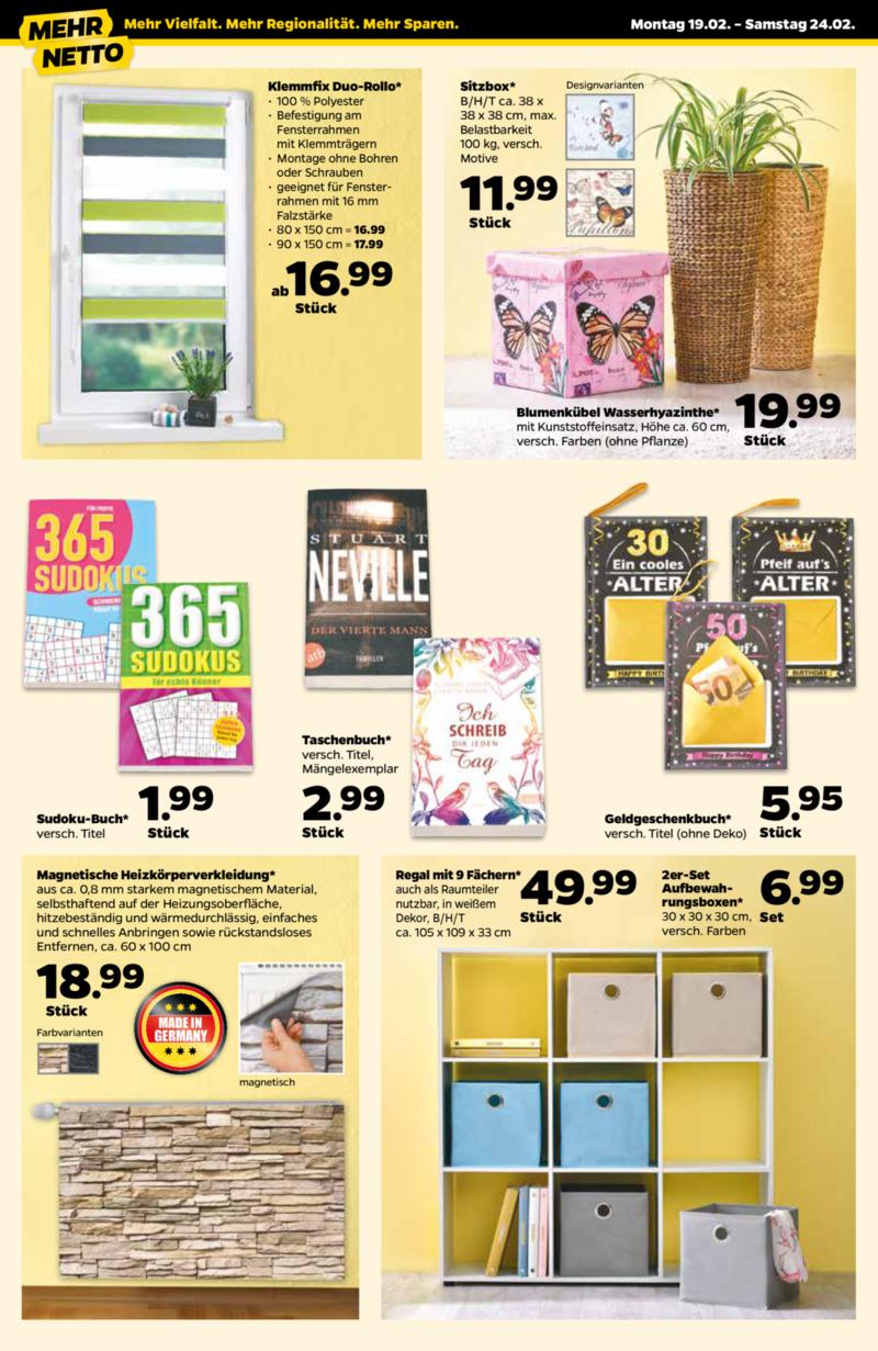 NETTO Supermarkt Prospekt vom 19.02.2018, Seite 3