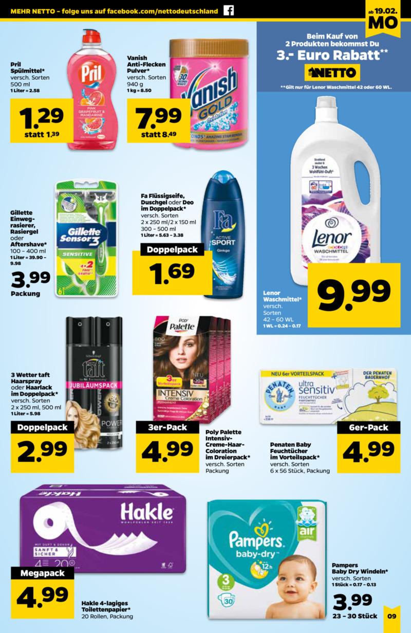 NETTO Supermarkt Prospekt vom 19.02.2018, Seite 8