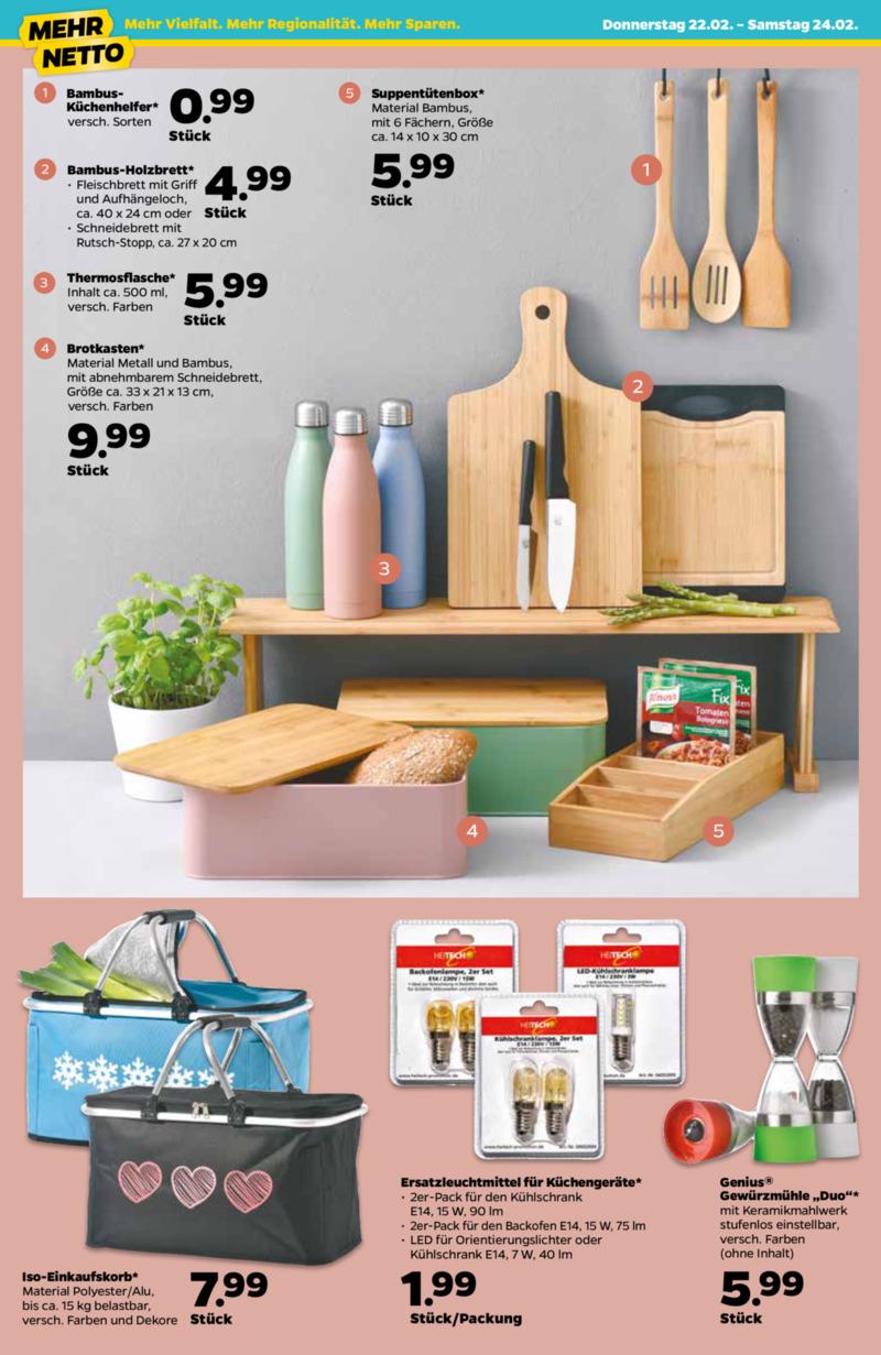 NETTO Supermarkt Prospekt vom 22.02.2018, Seite 3