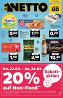 NETTO Supermarkt Prospekt vom 19.03.2018