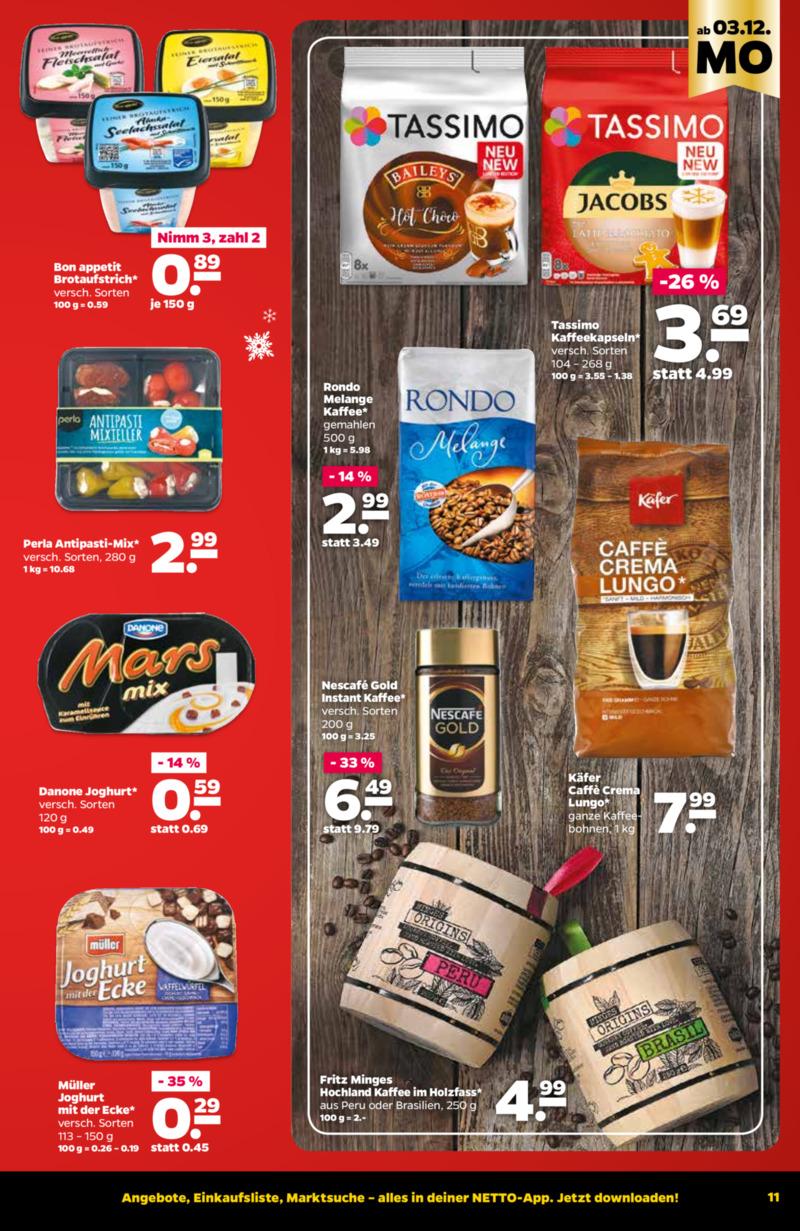 NETTO Supermarkt Prospekt vom 03.12.2018, Seite 10