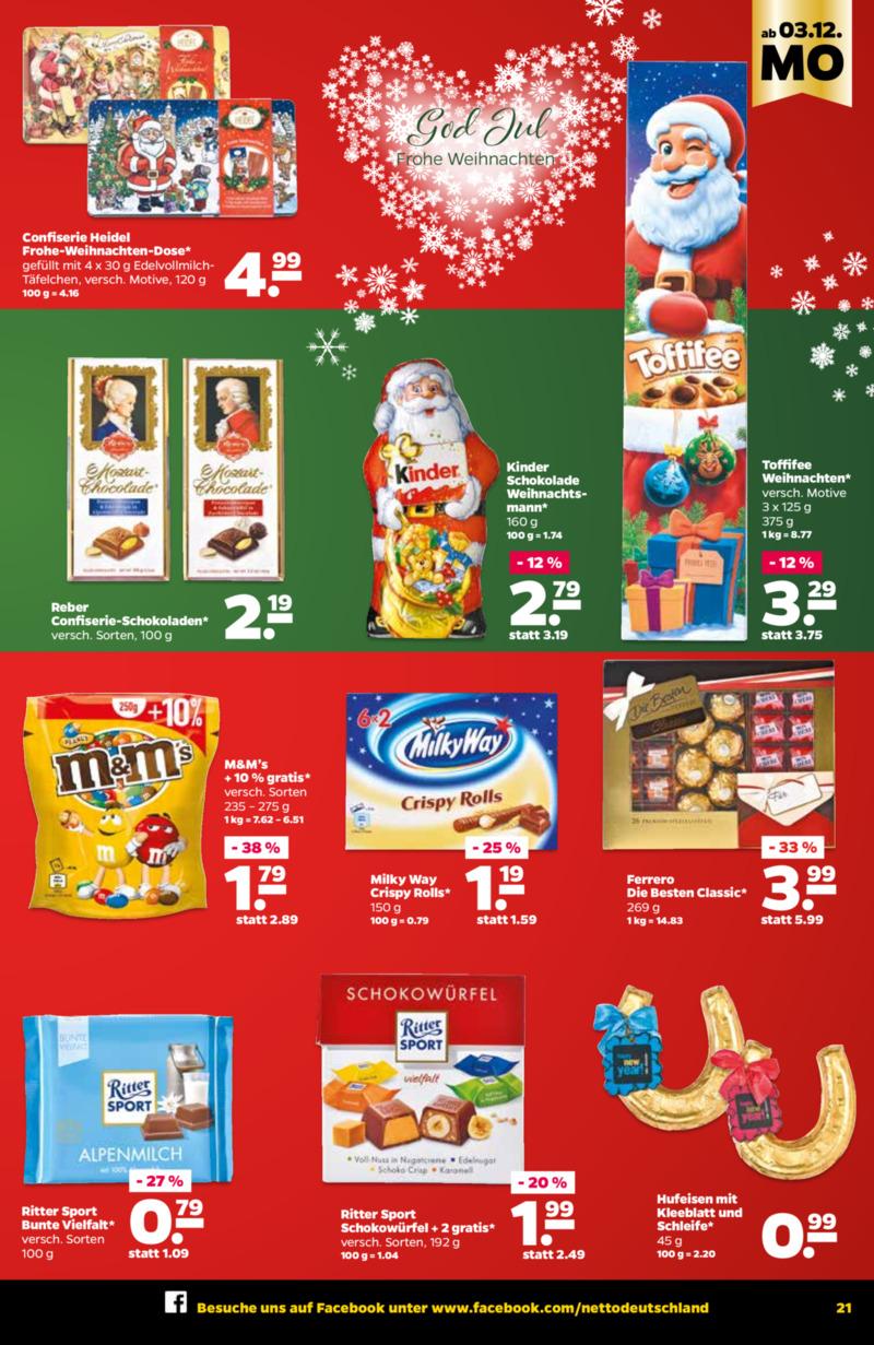 NETTO Supermarkt Prospekt vom 03.12.2018, Seite 12