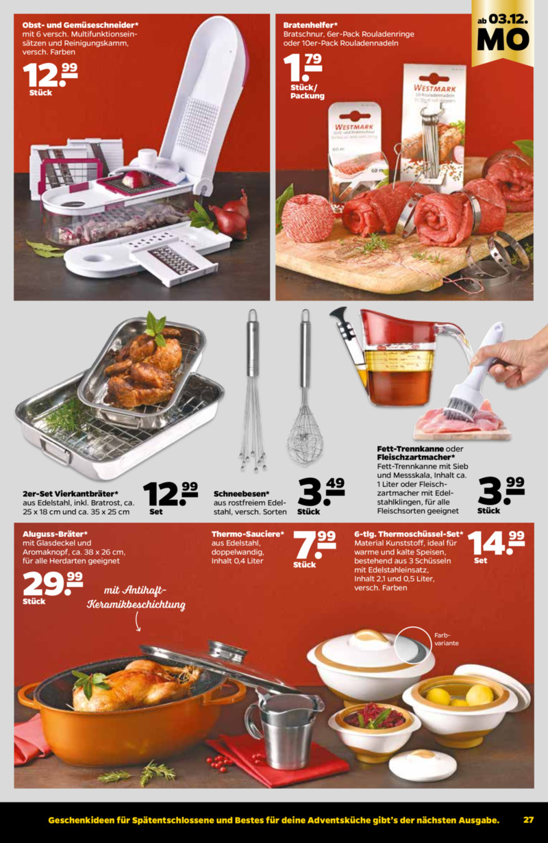 NETTO Supermarkt Prospekt vom 03.12.2018, Seite 18