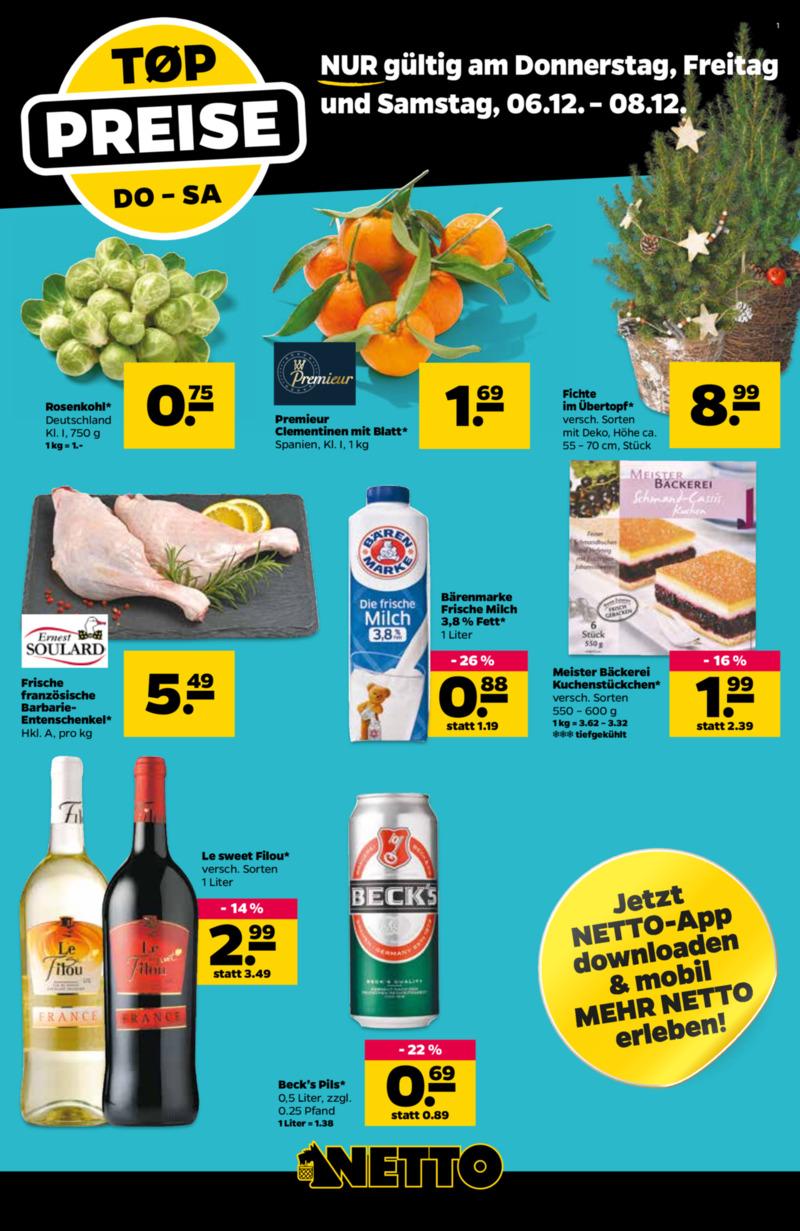 NETTO Supermarkt Prospekt vom 03.12.2018, Seite 20