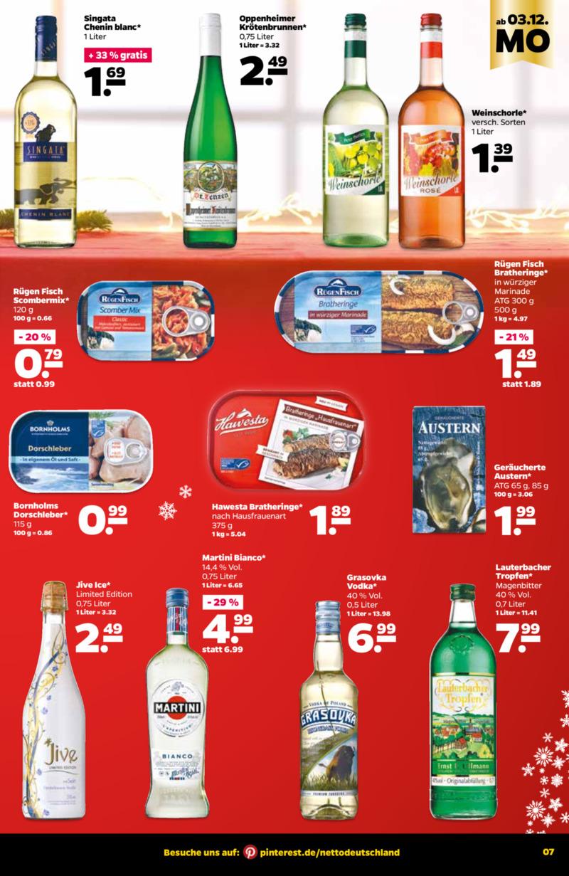 NETTO Supermarkt Prospekt vom 03.12.2018, Seite 6