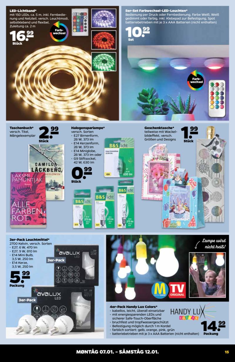 NETTO Supermarkt Prospekt vom 07.01.2019, Seite 14