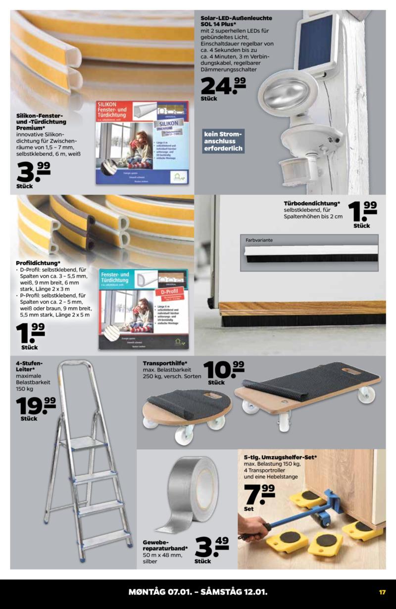 NETTO Supermarkt Prospekt vom 07.01.2019, Seite 16