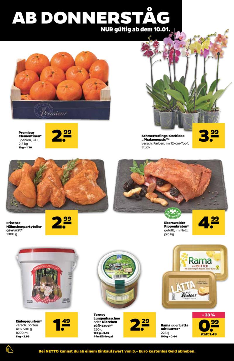 NETTO Supermarkt Prospekt vom 07.01.2019, Seite 17