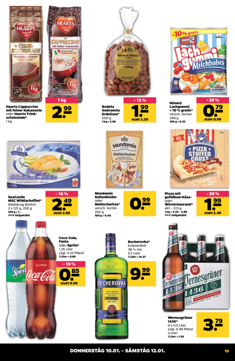 NETTO Supermarkt Prospekt vom 07.01.2019, Seite 18