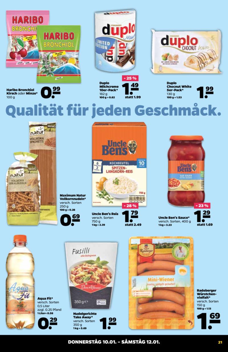 NETTO Supermarkt Prospekt vom 07.01.2019, Seite 20