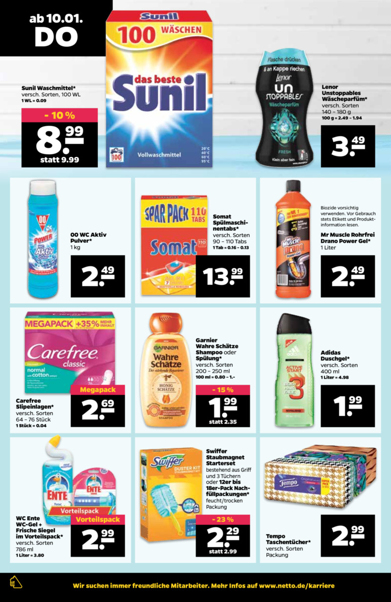 NETTO Supermarkt Prospekt vom 07.01.2019, Seite 23