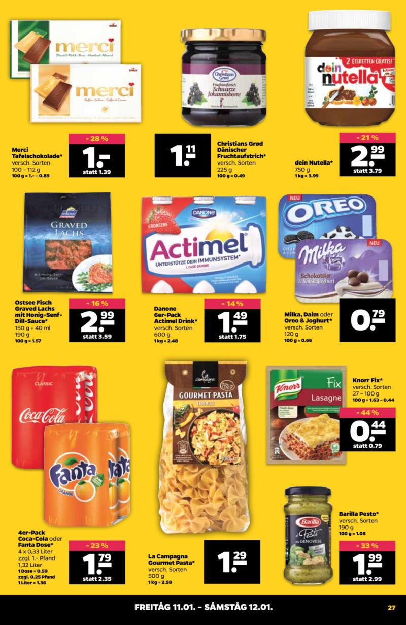 NETTO Supermarkt Prospekt vom 07.01.2019, Seite 26