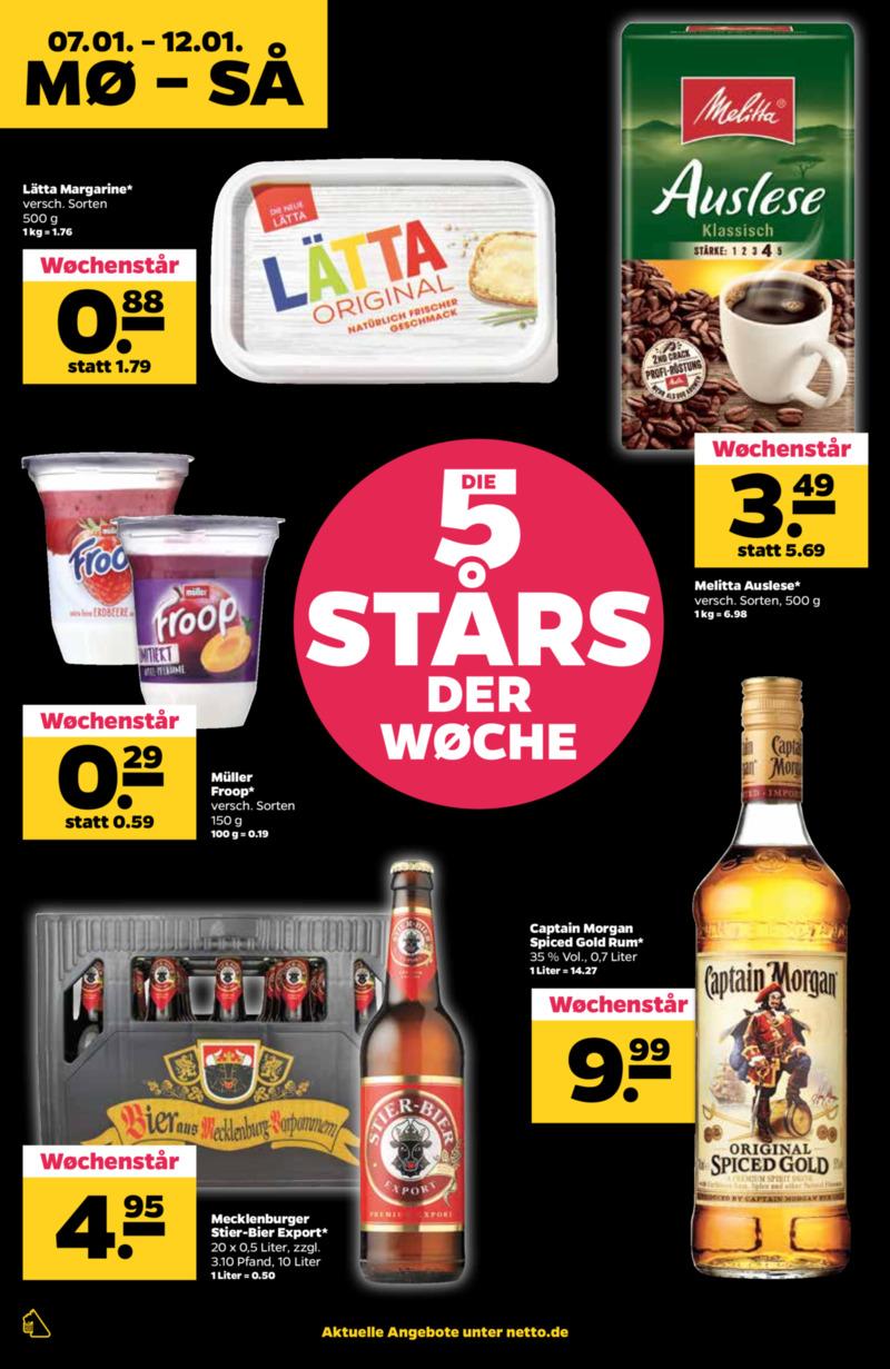 NETTO Supermarkt Prospekt vom 07.01.2019, Seite 3
