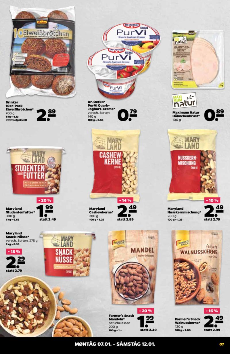 NETTO Supermarkt Prospekt vom 07.01.2019, Seite 6