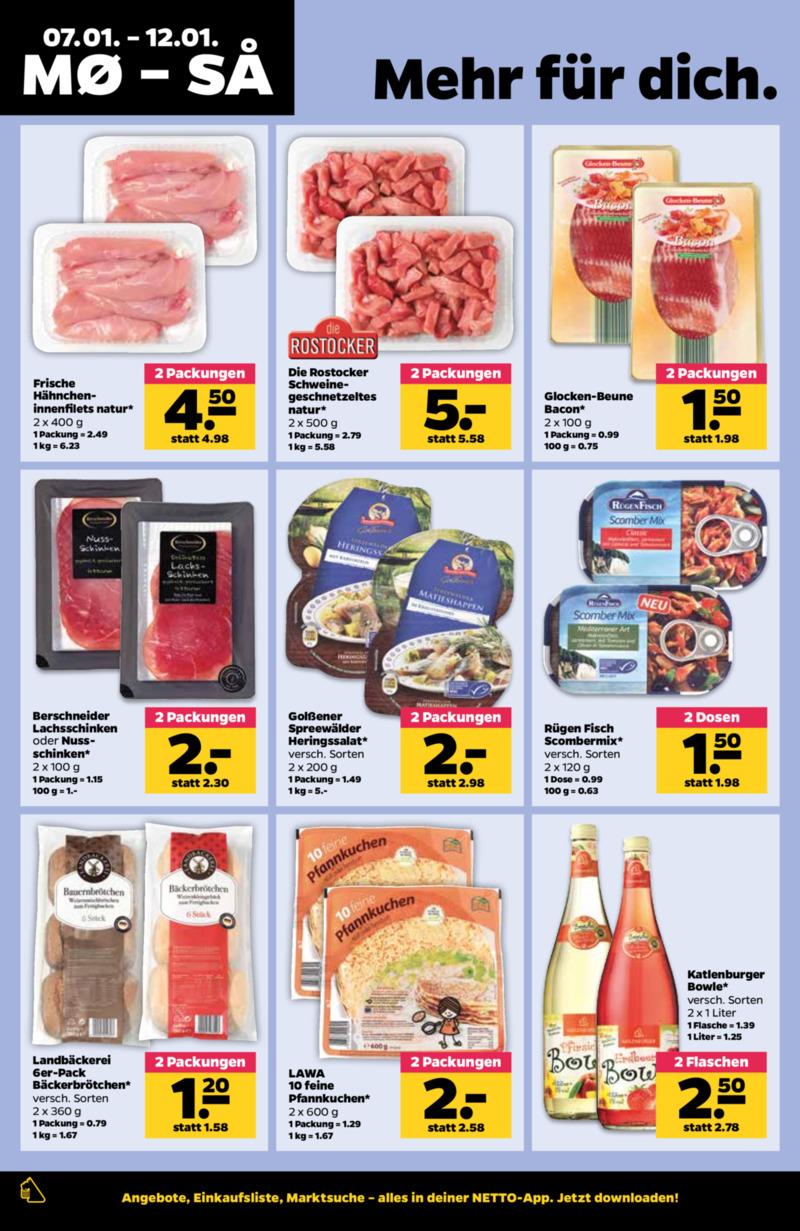 NETTO Supermarkt Prospekt vom 07.01.2019, Seite 7