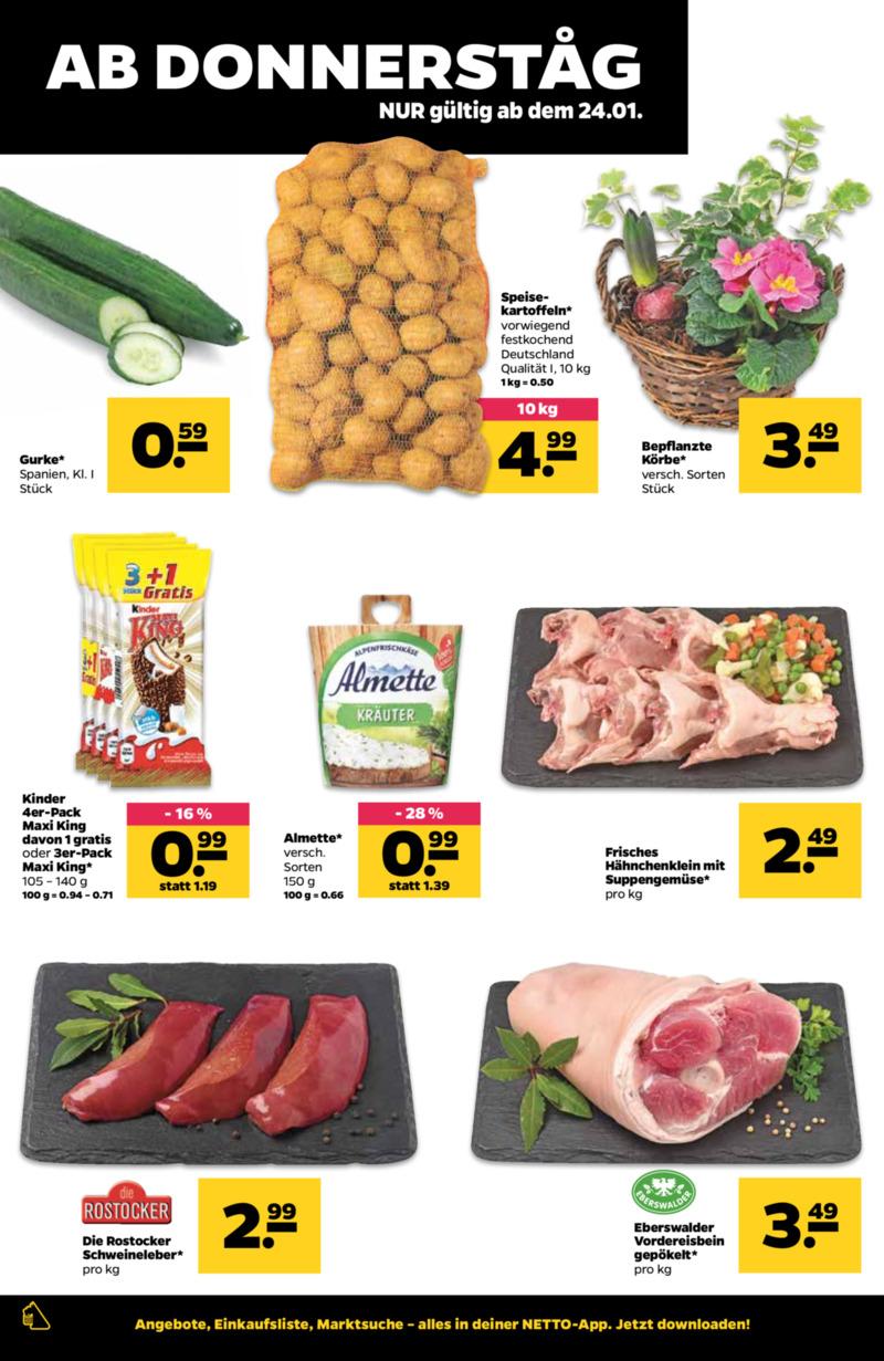 NETTO Supermarkt Prospekt vom 21.01.2019, Seite 17