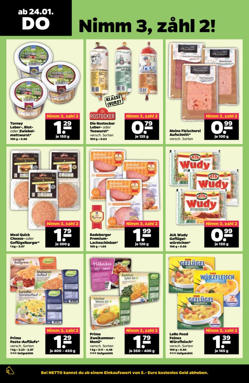 NETTO Supermarkt Prospekt vom 21.01.2019, Seite 19
