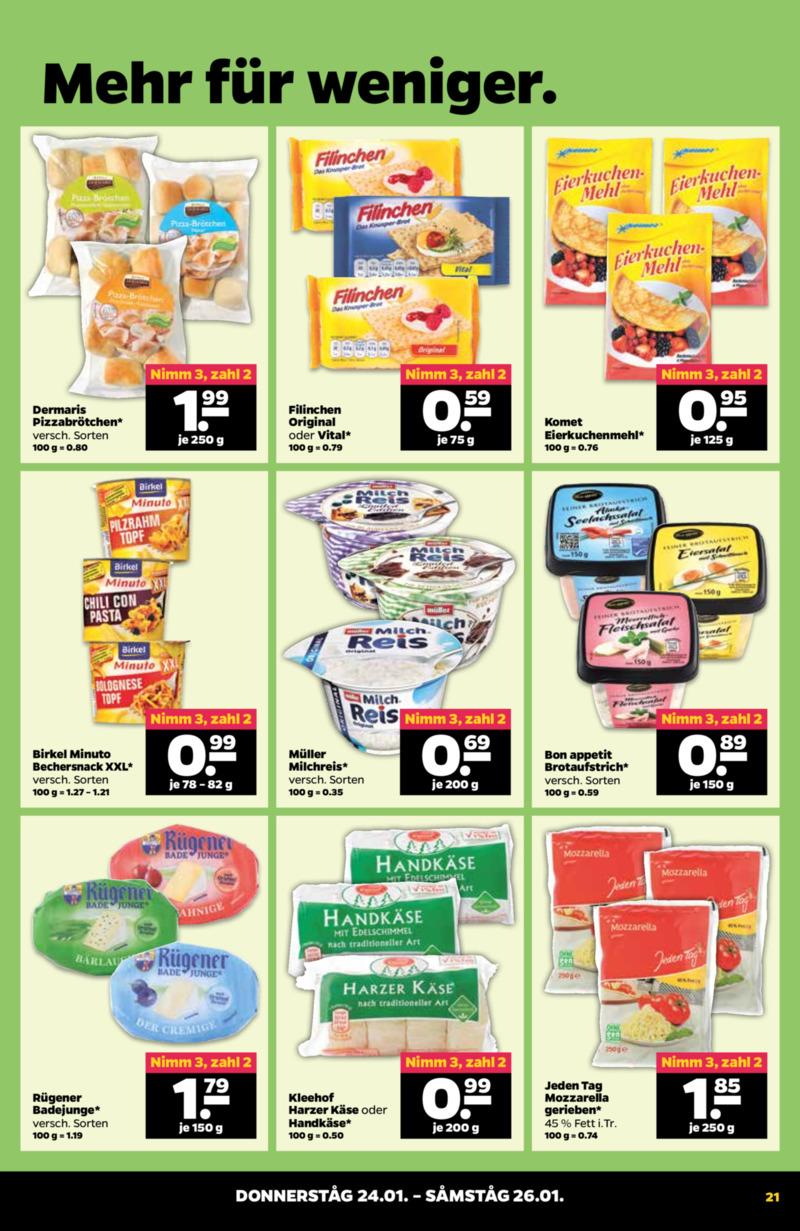 NETTO Supermarkt Prospekt vom 21.01.2019, Seite 20