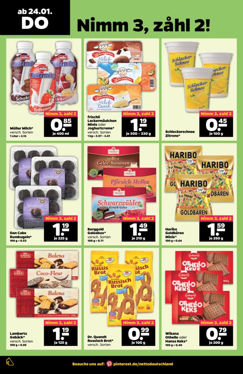 NETTO Supermarkt Prospekt vom 21.01.2019, Seite 21