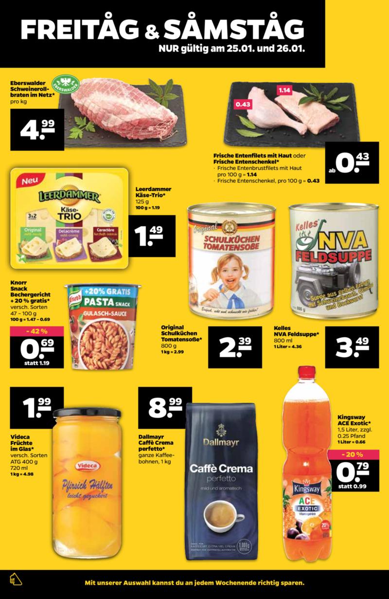 NETTO Supermarkt Prospekt vom 21.01.2019, Seite 25