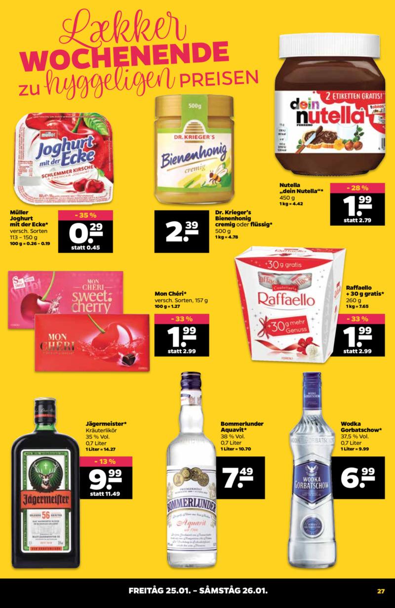 NETTO Supermarkt Prospekt vom 21.01.2019, Seite 26