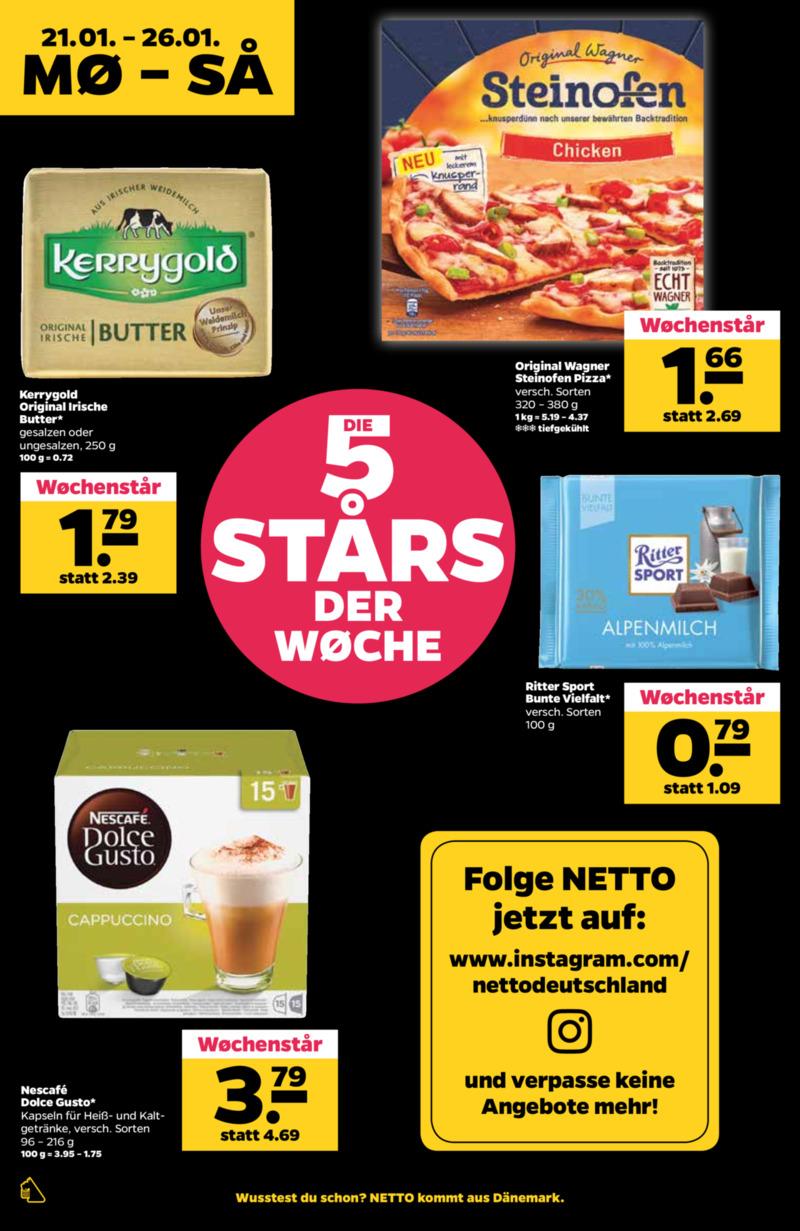 NETTO Supermarkt Prospekt vom 21.01.2019, Seite 5
