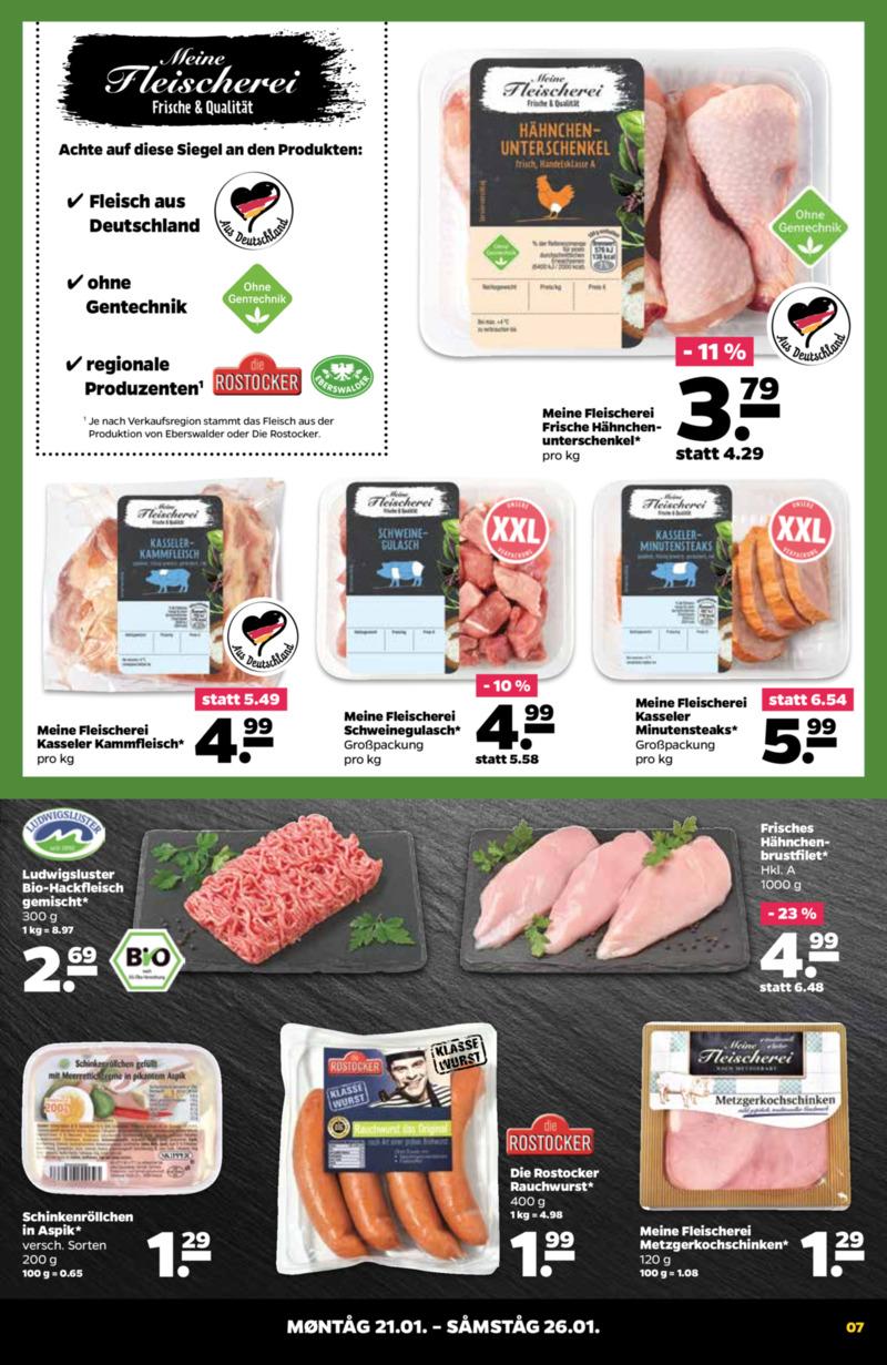 NETTO Supermarkt Prospekt vom 21.01.2019, Seite 6