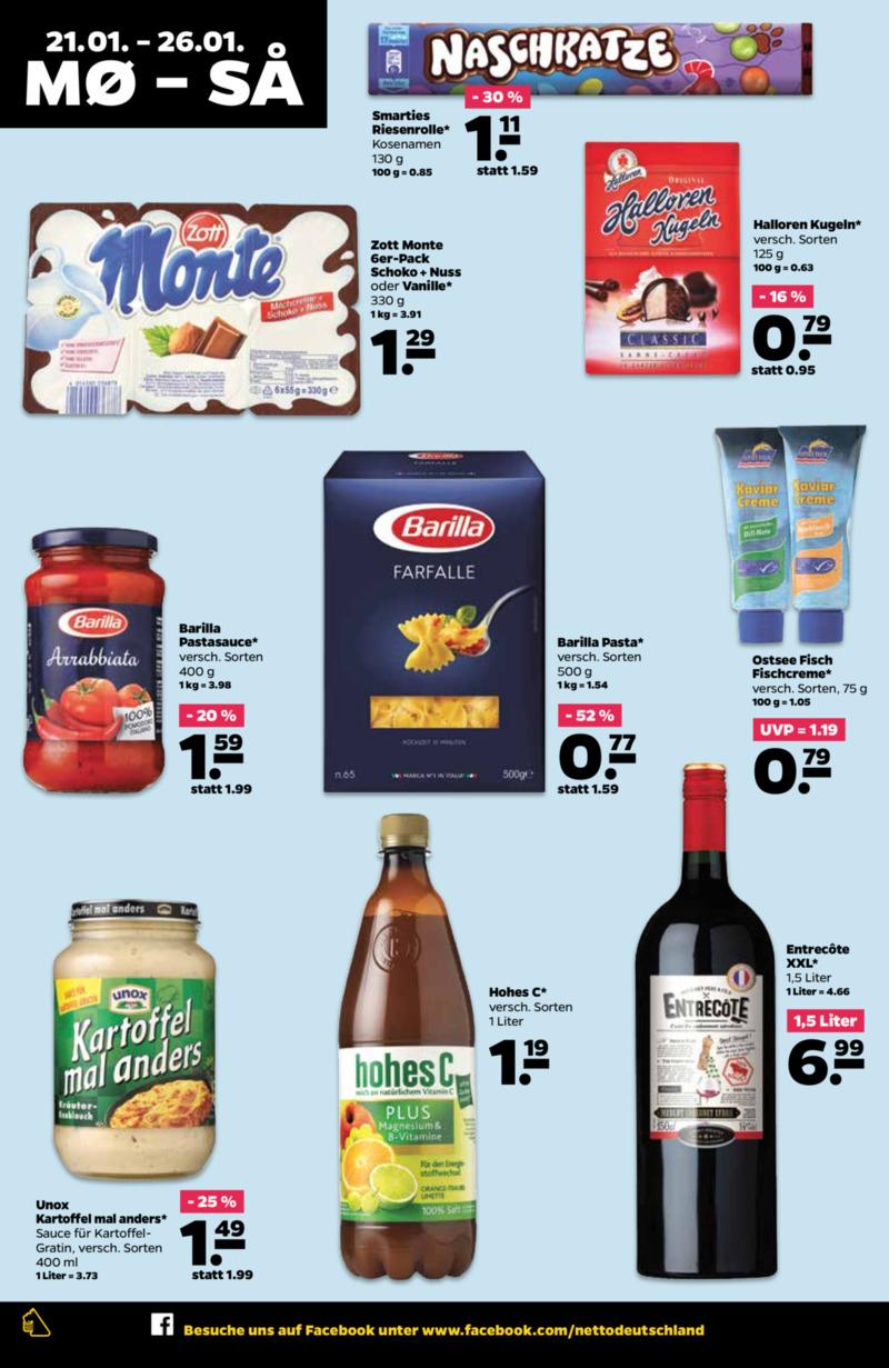 NETTO Supermarkt Prospekt vom 21.01.2019, Seite 7