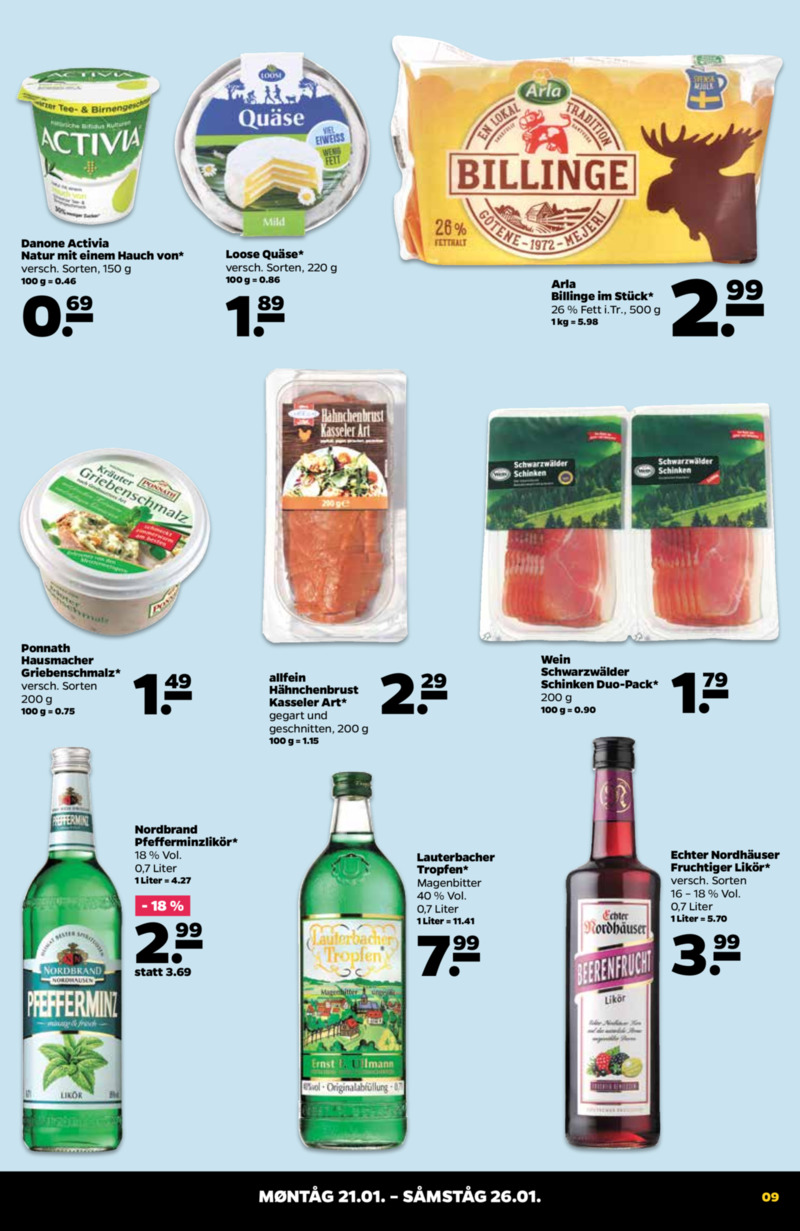 NETTO Supermarkt Prospekt vom 21.01.2019, Seite 8