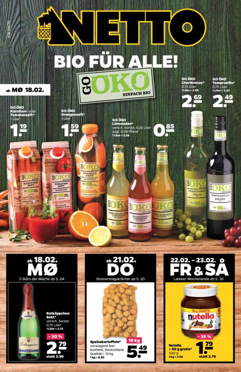 NETTO Supermarkt Prospekt vom 18.02.2019, Seite