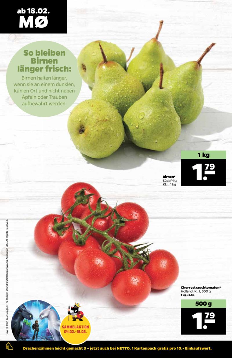 NETTO Supermarkt Prospekt vom 18.02.2019, Seite 1