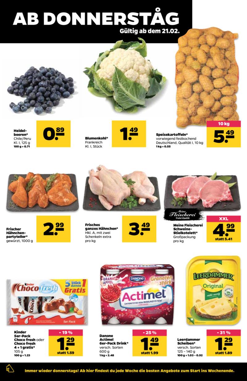 NETTO Supermarkt Prospekt vom 18.02.2019, Seite 19