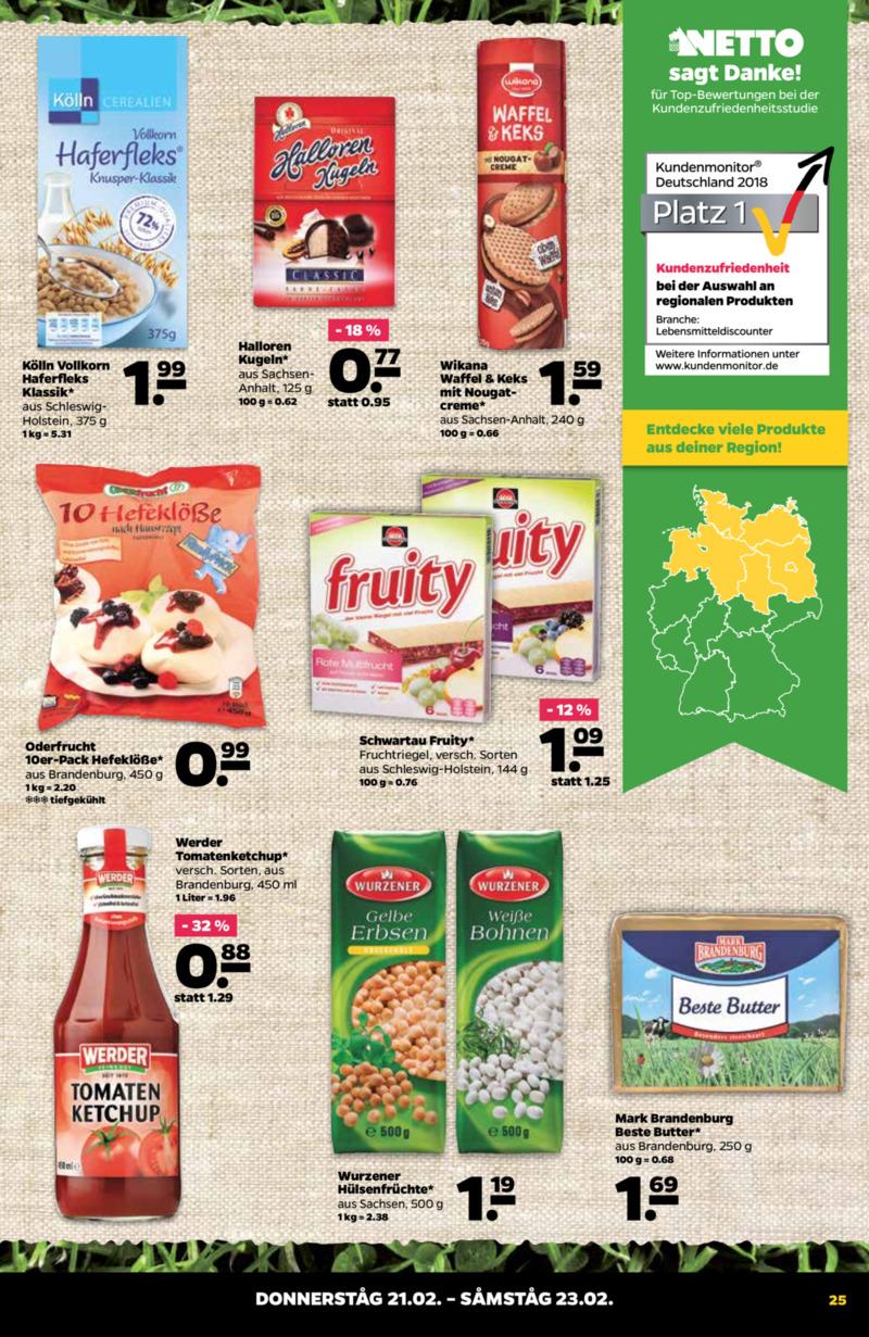 NETTO Supermarkt Prospekt vom 18.02.2019, Seite 24