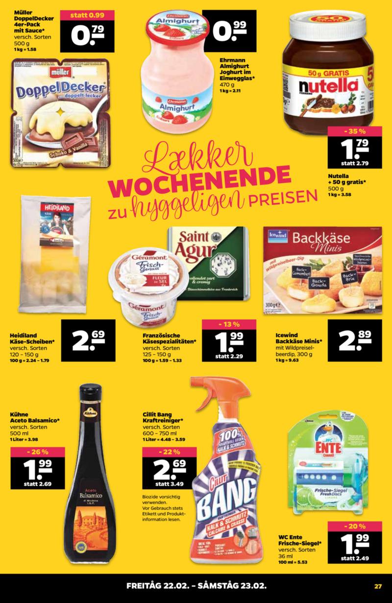 NETTO Supermarkt Prospekt vom 18.02.2019, Seite 26