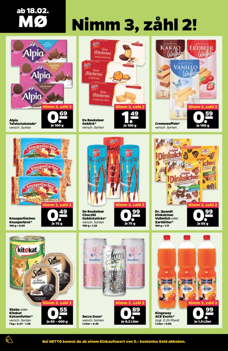 NETTO Supermarkt Prospekt vom 18.02.2019, Seite 7