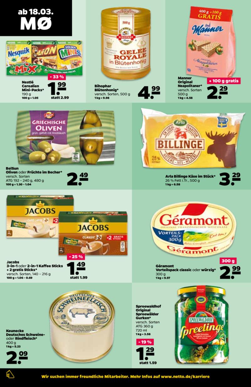 NETTO Supermarkt Prospekt vom 18.03.2019, Seite 9