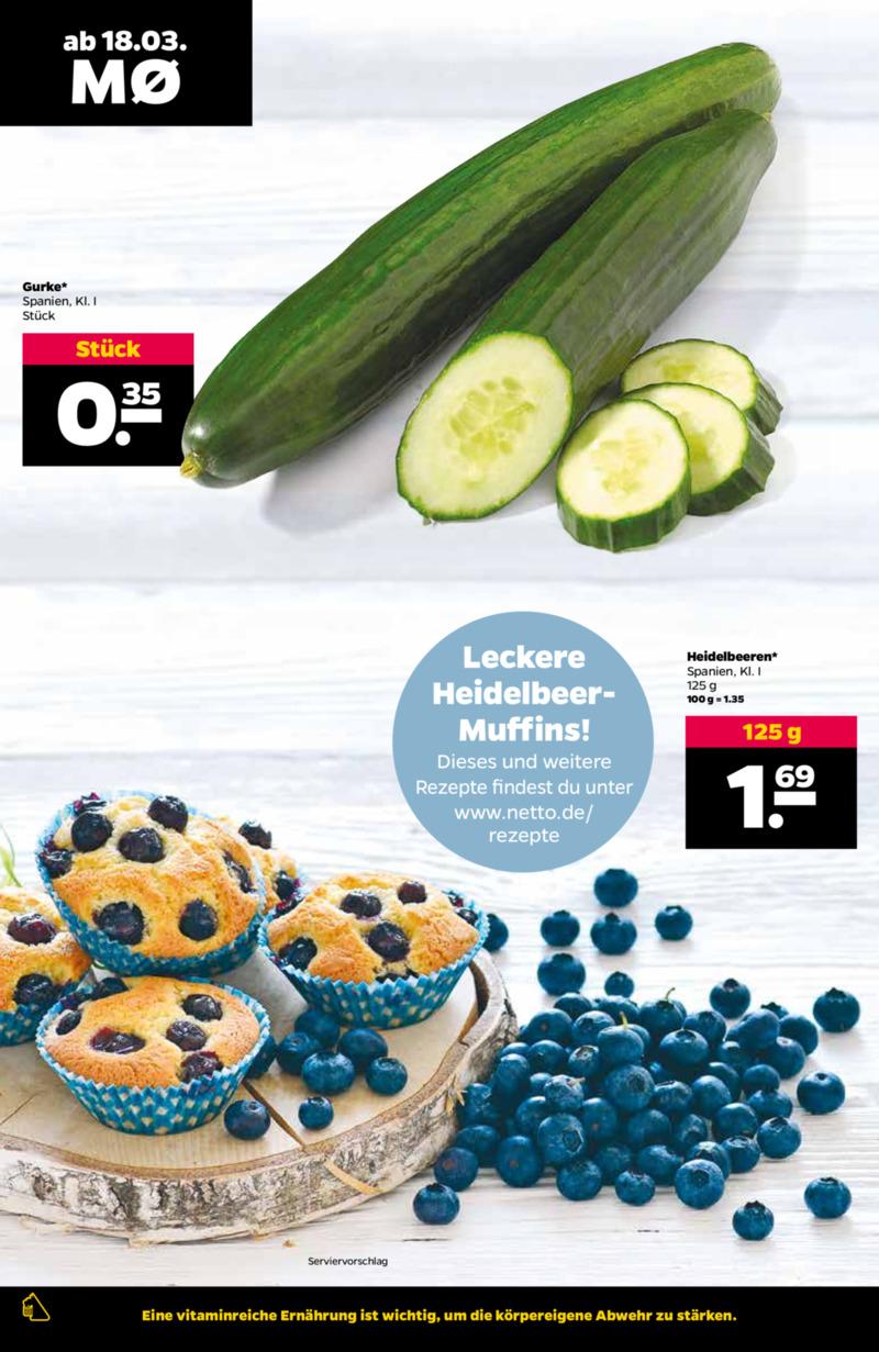 NETTO Supermarkt Prospekt vom 18.03.2019, Seite 1