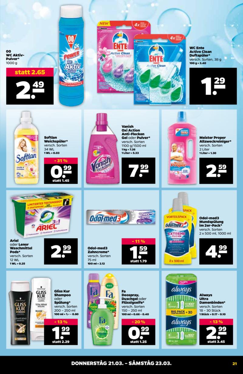 NETTO Supermarkt Prospekt vom 18.03.2019, Seite 20