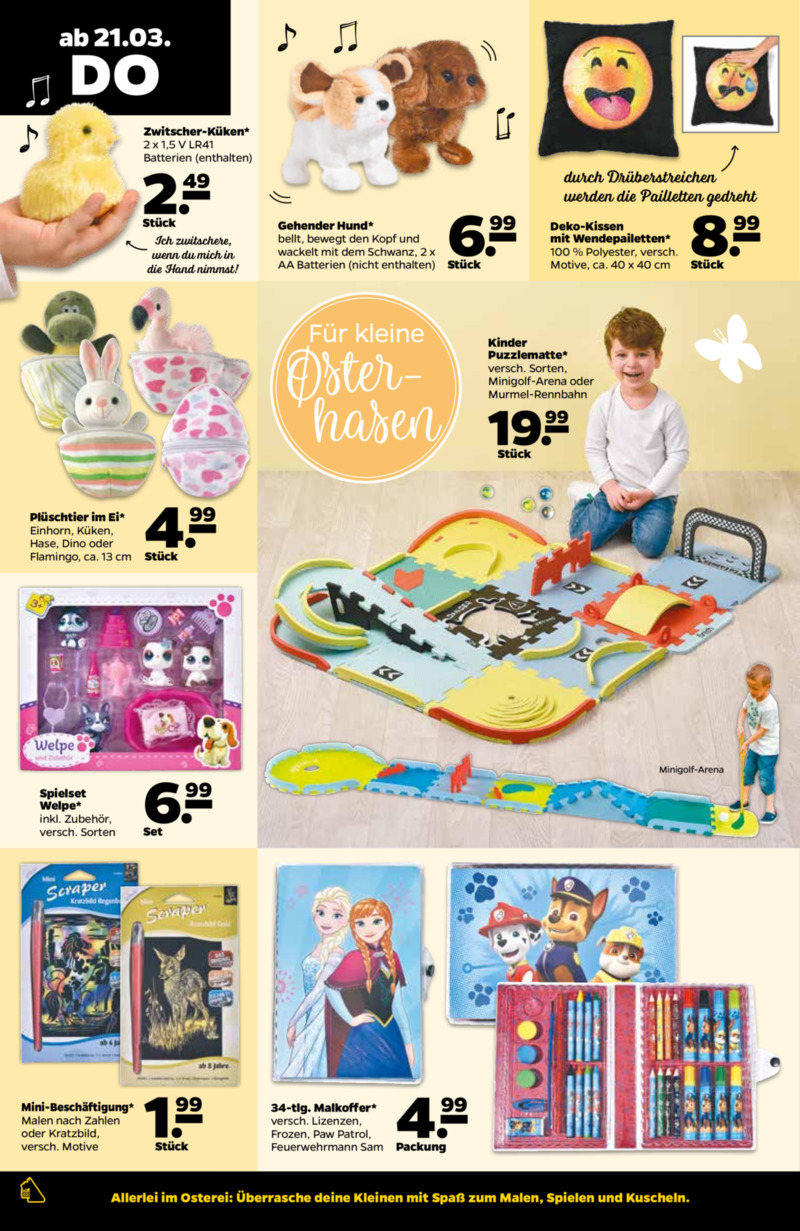 NETTO Supermarkt Prospekt vom 18.03.2019, Seite 21