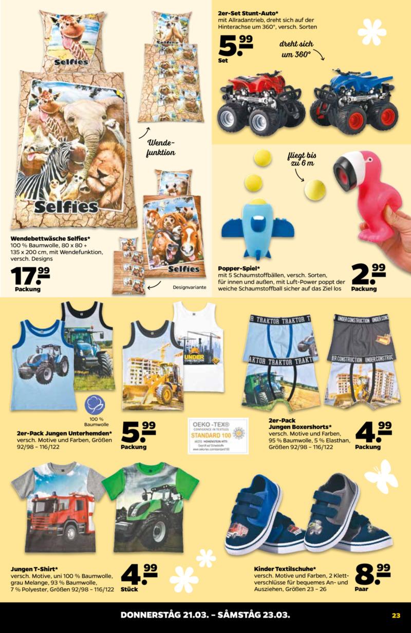 NETTO Supermarkt Prospekt vom 18.03.2019, Seite 22