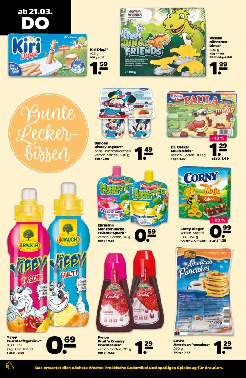 NETTO Supermarkt Prospekt vom 18.03.2019, Seite 23