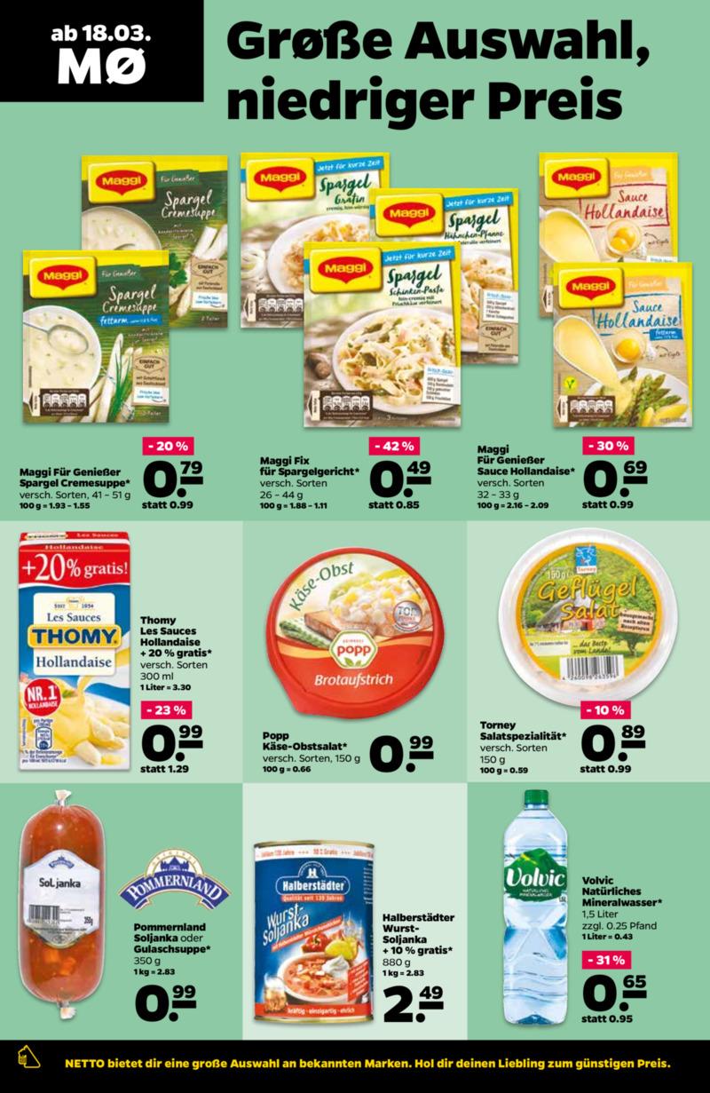 NETTO Supermarkt Prospekt vom 18.03.2019, Seite 7