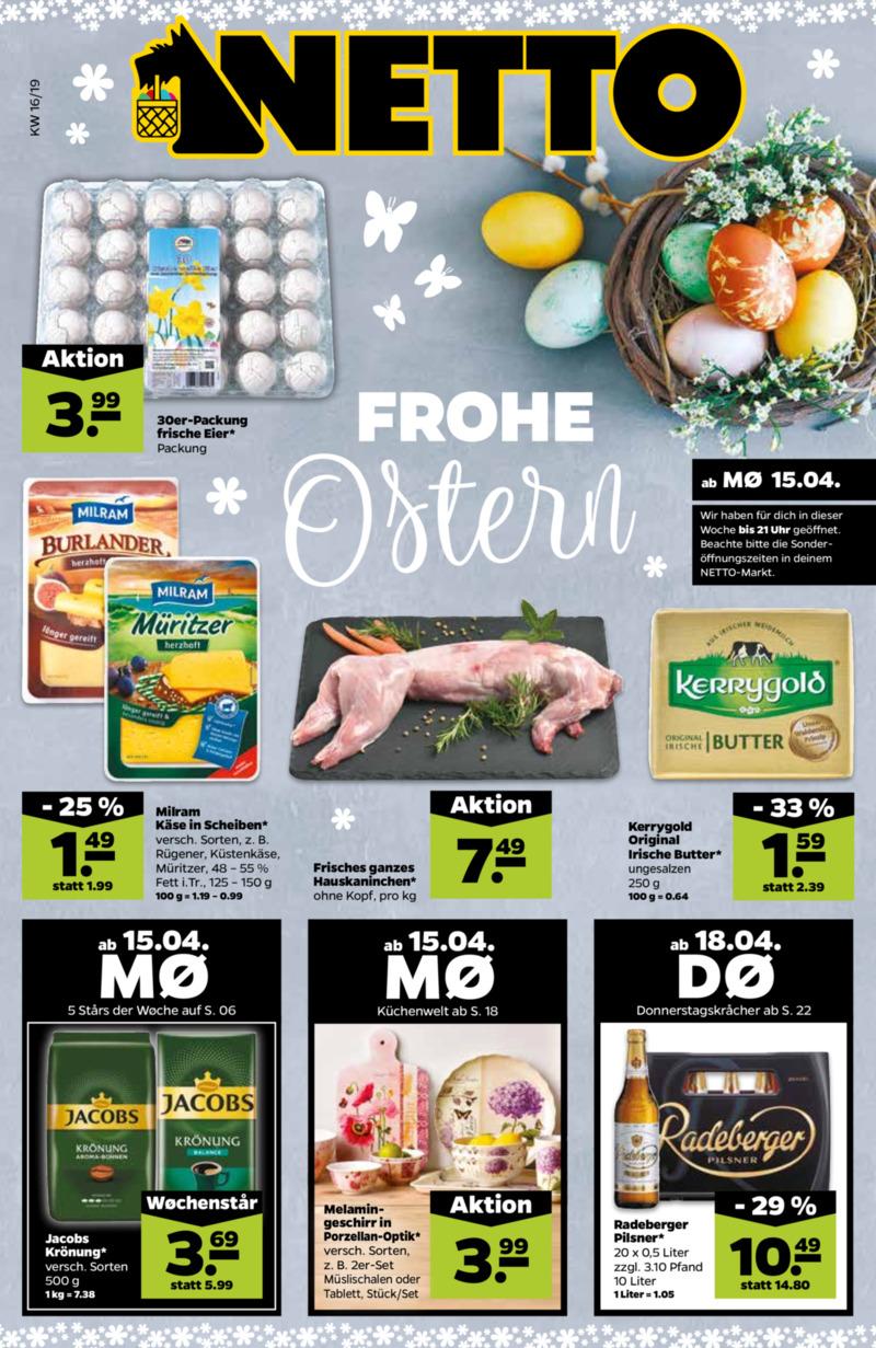 NETTO Supermarkt Prospekt vom 15.04.2019, Seite