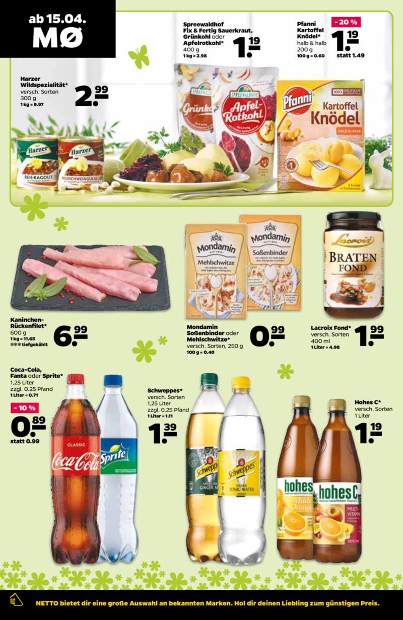 NETTO Supermarkt Prospekt vom 15.04.2019, Seite 11
