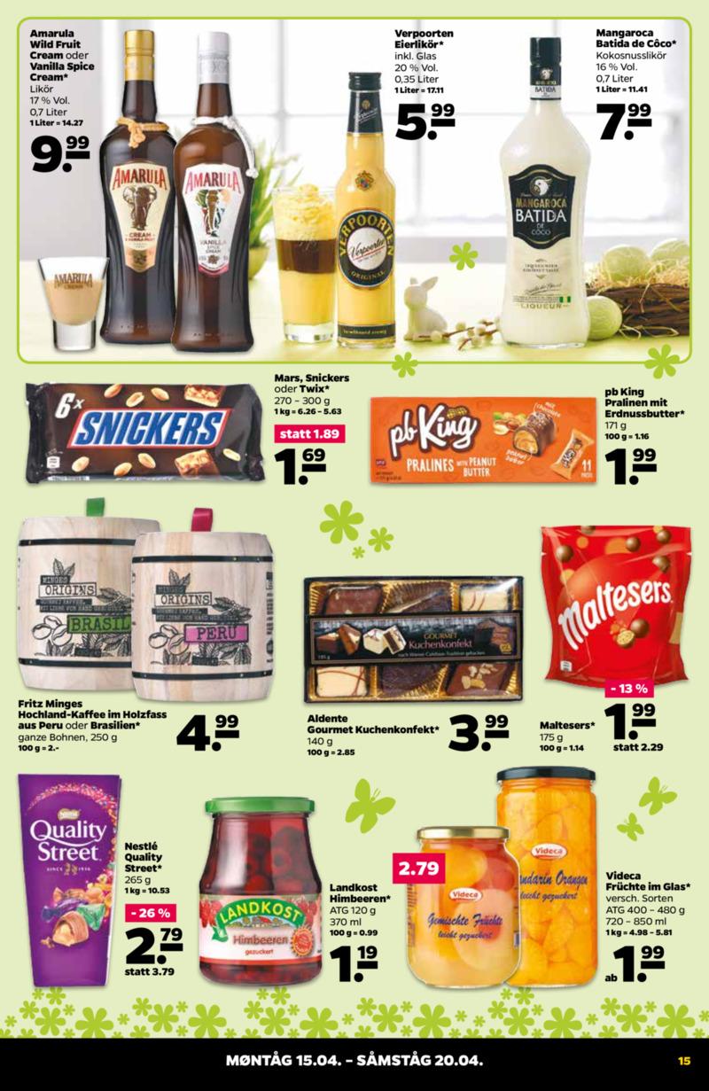 NETTO Supermarkt Prospekt vom 15.04.2019, Seite 14