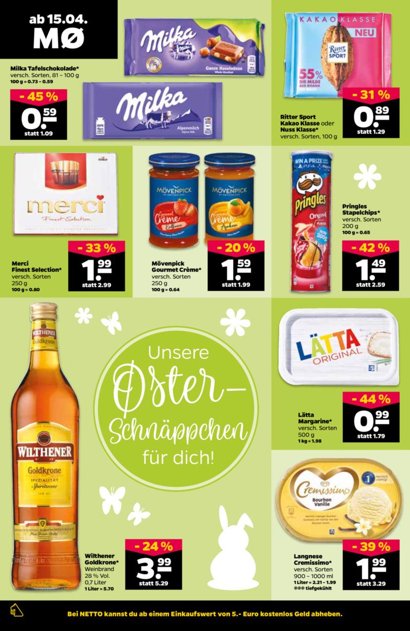 NETTO Supermarkt Prospekt vom 15.04.2019, Seite 15