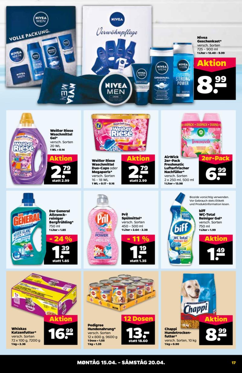 NETTO Supermarkt Prospekt vom 15.04.2019, Seite 16