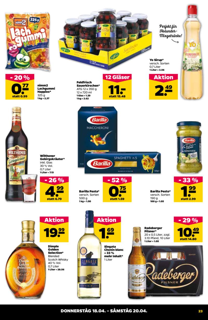 NETTO Supermarkt Prospekt vom 15.04.2019, Seite 22