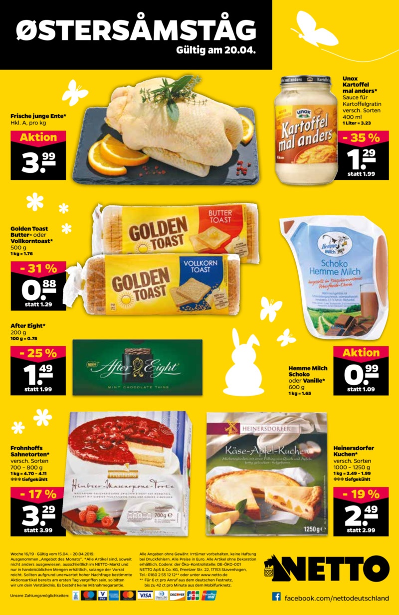 NETTO Supermarkt Prospekt vom 15.04.2019, Seite 27